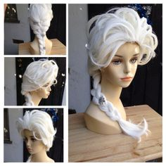 Elsa Frozen Adult Costume Wig Version 1 - A True Enchantment Original