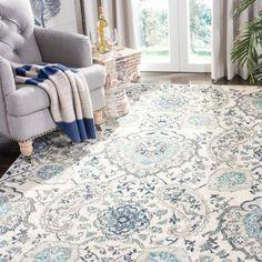 Pour une déco rétro, adoptez le motif Paisley ou cachemire pour affirmer votre style ! #astucedeco #motifdeco #paisley #tapis #decoration