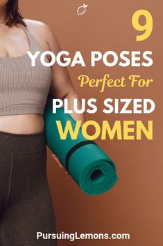 If you're plus-sized and looking for ways to lose weight, these yoga poses for plus-sized women is a great low-intensity workout to shed those extra pounds. Learn Yoga, How To Do Yoga, Yoga Poses For Beginners, Workout For Beginners, Fitness Tracker, Yoga Exercises, Yoga Workouts, Workout Tips, Yoga Today