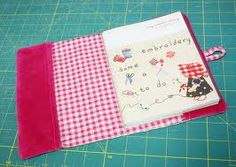 nairamkitty crafts: Tutorial Funda de libros