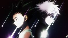 Gon & Killua. I love these two little men from the anime #HunterxHunter (2011)... and it doesn't hurt that they're super adorable! ^_^