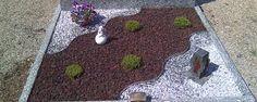 Bildergebnis für garten mit mulch