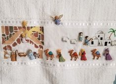Three Wise Men, Hula, Nativity, Christmas, Angels, Embroidered Towels, Aprons, Stud Earrings, Xmas