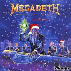 merry Christmas megadeth | Vote for megadeth this Christmas...The best blingee ever made. Also my ...