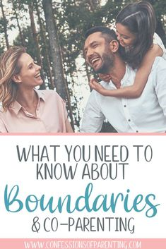 Co-Parenting Boundaries You Want To Set - Confessions of Parenting Are you looking for ways to be a successful co-parent? We have the tips you need to help with setting healthy boundaries with co-pare Step Parenting, Parenting Plan, Single Parenting, Parenting Quotes, Parenting Hacks, Autism Parenting, Parenting Teenagers, Parenting Styles, Narcissist Father
