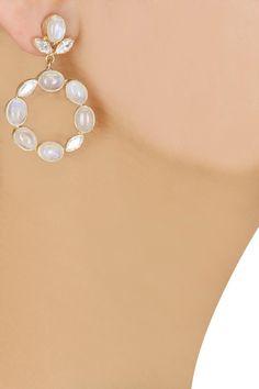 Vita rosen earrings by Atelier Mon. Shop at: www.perniaspopupshop.com. #earrings #ateliermon #accessory #shopnow #perniaspopupshop #happyshopping