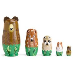 nesting woodland animals!!! cute