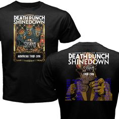 FIVE 5 FINGER DEATH PUNCH & SHINEDOWN ROCK TOUR  2016  #ShortSleeve
