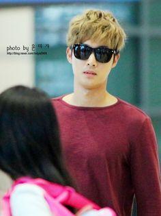 Kim Hyun Joong 김현중 ♡ airport ♡ Kpop ♡ Kdrama ♡