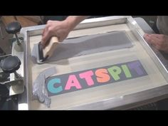 How To Screen Print Using Paper Stencils & Found Objects