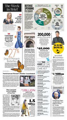 The Week in Brief|Epoch Times #TheWeekinBrief. #newspaper #editorialdesign