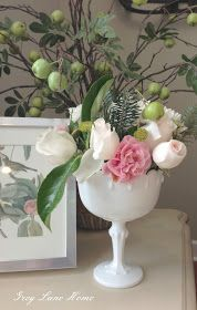 GreyLaneHome: Simple Flower Arrangement Tutorial.