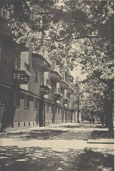 Warszawa, Aleja Szucha, fot. Tadeusz Przypkowski (1935) Irena Sendler, Warsaw, Mj, Places, History, Poland, Photos, Fotografia, Lugares