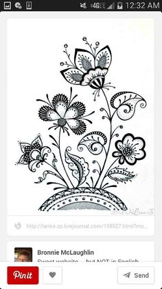 Czech floral design