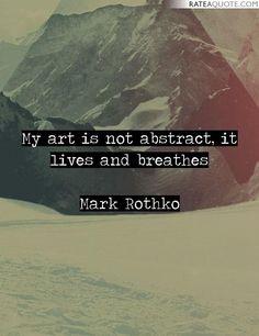 Rothko Quotes
