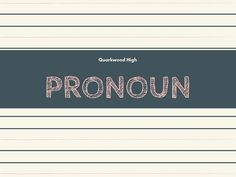 Pengertian Pronoun, Contoh, Fungsi dan Cara Membentuknya.