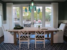 dining room perfection - amber interiors