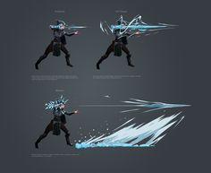 Spellbreak VFX concepts, Damon Iannuzzelli - Sites new Fantasy Character Design, Character Design Inspiration, Character Concept, Character Art, Ice Magic, Magic Art, Magic Drawing, Arte Sci Fi, Magic Design