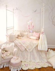 beautiful shabby chic nursery