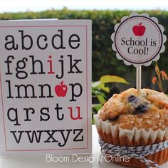 Back to School Printable Set From  Bloom Designs