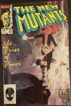 The New Mutants #25   #BillSienkiewicz #ChrisClaremont  #NewMutants #Legion #Steemit #OpenBazaar #Bitcoin #ComicBooks #MarvelComics #Comics #Mutants