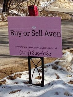 Great pin... every direct seller should do this!  Advertising Your Avon Business -  www.CashFlowShow.com