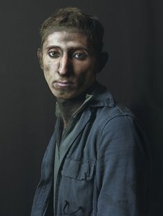 Armando, 2009. Pierre Gonnord Photography, Spanish miners portraits