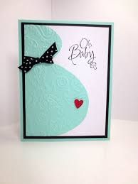 Image result for homemade baby cards