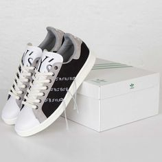 adidas Originals x Blanco | Mountaineering Stan Smith Gris | Blanco sneaker c94128