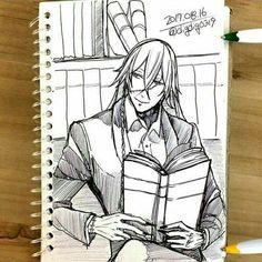 Black Butler Undertaker, Shinigami, Anime Boyfriend, Manga, Anime Characters, Chibi, Fandoms, Character Ideas, Outlines