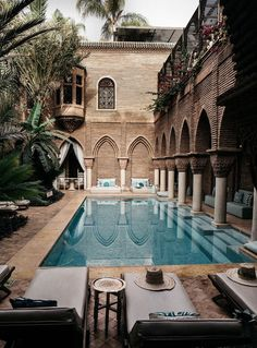 Where To Stay In Marrakech: La Sultana best luxury boutique hotel swimming pool . - PoOn Y - Hotel