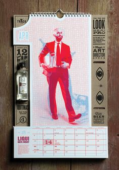 1 Trick Pony's awesome calendar design + 5 Tips for Evaluating Your Promo Piece