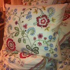 Love these pillows from Ikea!!