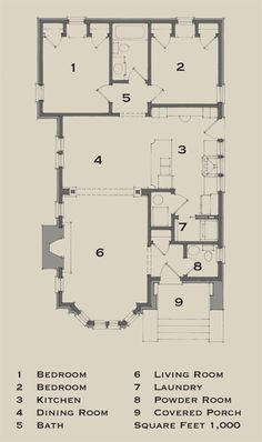 Small bungalow plan