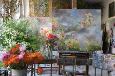 Artist Claire Basler's flower house_studio