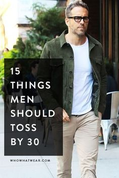 What guys should get rid of by age 30. Mens Fashion | #MichaelLouis - www.MichaelLouis.com