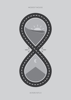 Interstate 8 - Modest Mouse Poster on Behance
