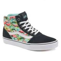 Vans Milton Women's High-Top Flamingo Skate Shoes