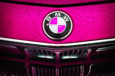 For those pink lovers, my wife Sara is going to ask me for one when she sees this. #photography #pink #bmw