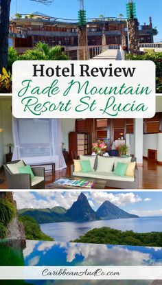 Find out why luxurious and architecturally stunning Jade Mountain Resort St Lucia, is perfect for couples on their honeymoon or a romantic vacation. Romantic Honeymoon, Romantic Vacations, Romantic Getaway, Caribbean Vacations, Caribbean Honeymoon, St Lucia Honeymoon, Honeymoon Destinations, Honeymoon Ideas, Mountain Resort