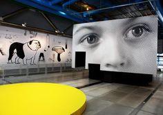 Centre Pompidou-Paris exposition - Portrait de famille - Les Graphiquants