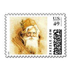 Santa 2014-1041 postage stamp