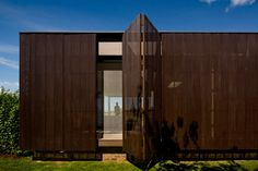 HS Quinta da Baroneza designed by Studio Arthur Casas near São Paulo, Brazil. Great concertina door detail.