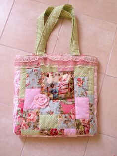 What a great way to use left over fabric
