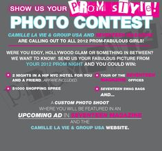 Show Your Prom Style Contest with Seventeen Magazine!!