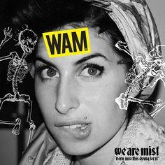WEBSTA @ wearemist_wam - Again its friday!photo: Charles Moriarty#WAM #wearemist #somosniebla #bornintothis #dyingforit #wamphoto #wamclothing #wam_brand #pickoftheday #photoofday #desingofday #allrightreserved #instagood  #art #instaart #artwork #pickoftheday #amywinehouse #graphicdesign  #dance #drunk #love #happy #party