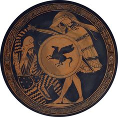 Greek hoplite fighting a Persian archer warrior. Both are armed with copis. Drawing from an ancient cilica (vase), 5th century BC NS. National Archaeological Museum, Athens. Persian Warrior, Greek Warrior, Ancient Greek Art, Ancient Greece, Greek History, Ancient History, Battle Of Gaugamela, Ancient Sparta, Greco Persian Wars