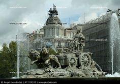 Las Cibeles en Madrid