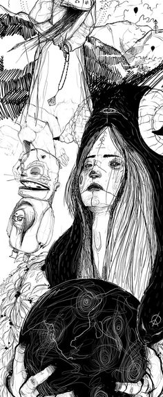Sketches - illustration, character dsgn, messing around by PWEE 3000, via Behance