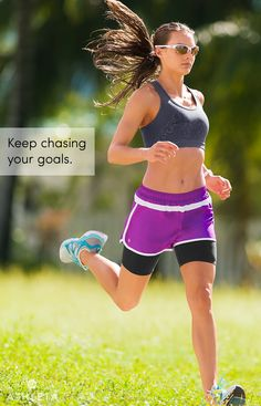 Keep chasing your goals.  #powertotheshe